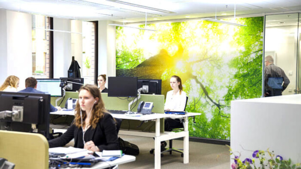 human-centric lighting at the office